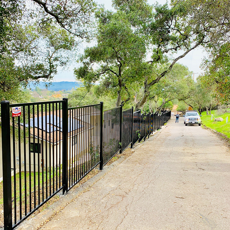 Wrought Iron Fence (flat top)